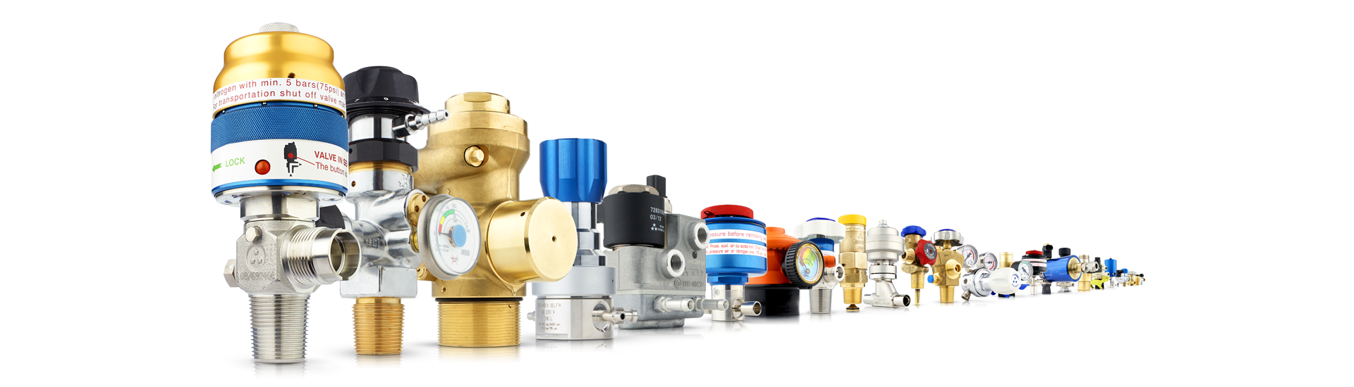 High quality Rotarex gas control valves, pressure regulators &f 